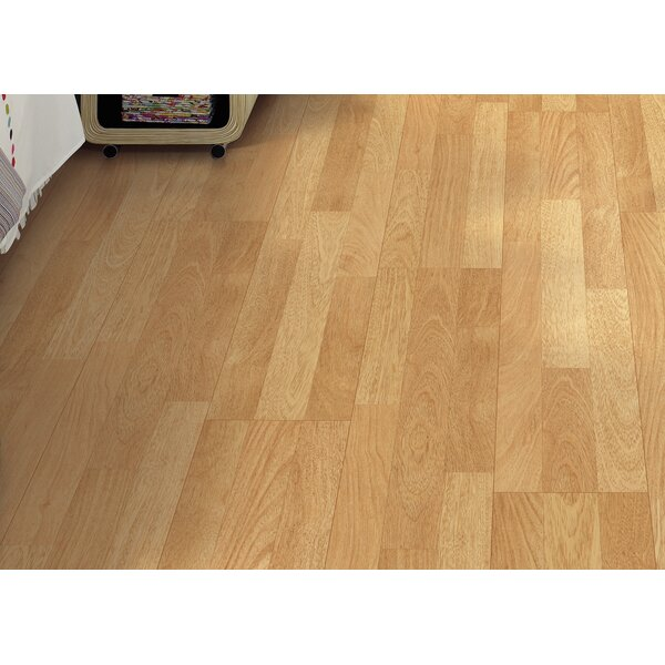 Copeland 8 x 47 x 7.87mm Teak Laminate Flooring in Natural by Mohawk Flooring