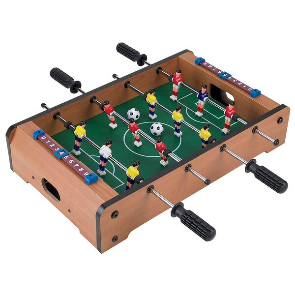 Mini Table Top Foosball & Accessories by Trademark Games