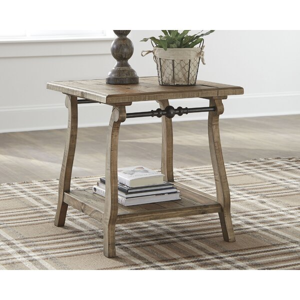 Nixon Dazzelton End Table By August Grove®