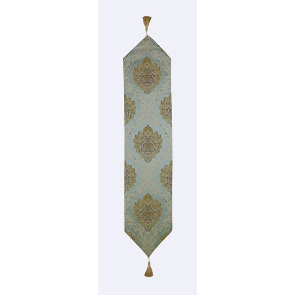Tom Floral Elements and Flower Bouquets Table Runner by Astoria Grand