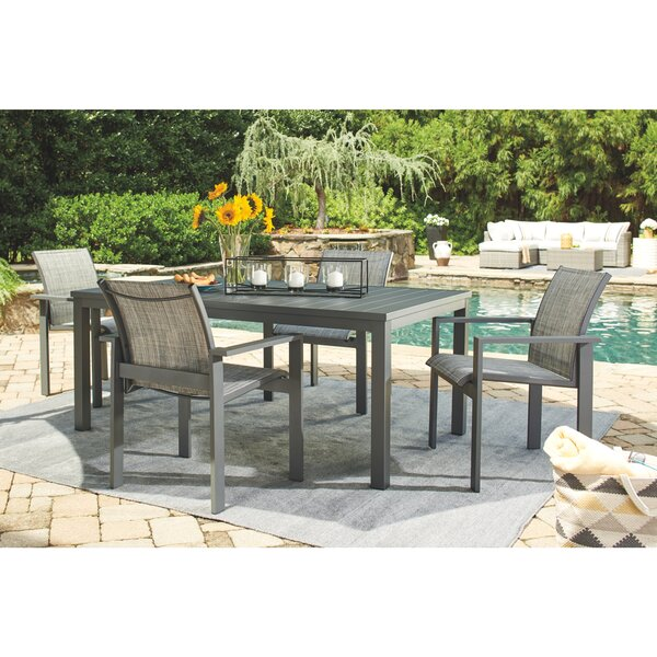 5 Piece Dining Set by Latitude Run