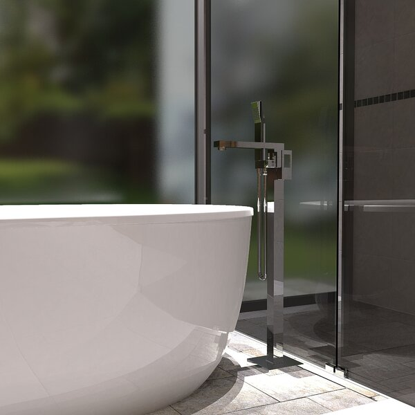Single Handle Floor Mounted Freestanding Tub Filler by Keeney Manufacturing Company