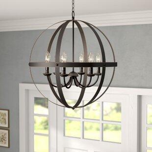 Genna 6 Light Globe Chandelier
