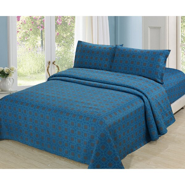 Culture Clash Polyester Sheet Set by Sutton Home Fashions