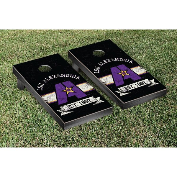 NAIA Banner Version Cornhole Game Set by Victory Tailgate
