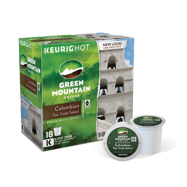 Green Mountain Coffee Roasters Colombian Decaf K-Cups (Pack of 108) by Keurig