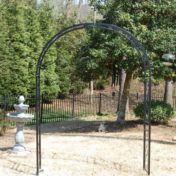 Medford Steel Arbor by Griffith Creek Designs