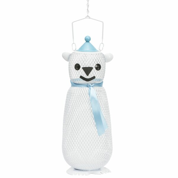 Polar Bear Mesh Bird Feeder by Perky Pet