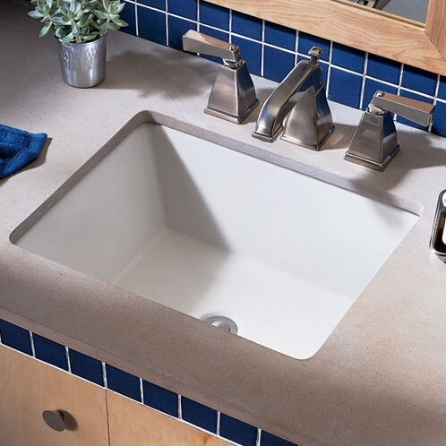 Undermount Bathroom Sink american standard boulevard rectangular undermount bathroom sink