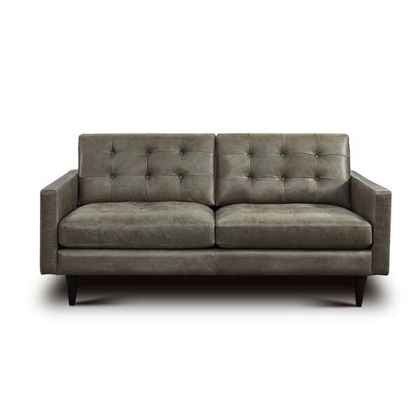Whittemore Leather Loveseat By Foundry Select