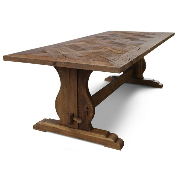 kannon Bound Solid Wood Dining Table by Charlton Home Charlton Home