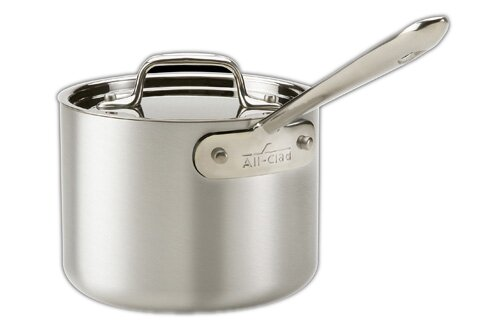 Master Chef 2 Saucepan with Lid by All-Clad