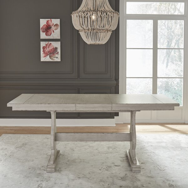 Arguello Gathering Drop Leaf Dining Table by One Allium Way