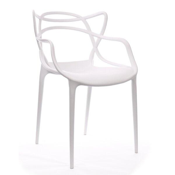Stein Stacking Patio Dining Chair (Set of 4) by Latitude Run Latitude Run