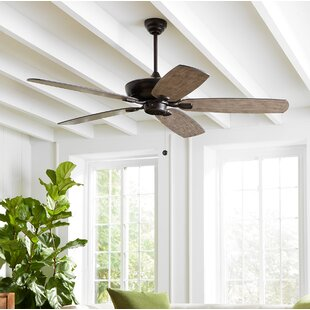 French country ceiling fans youll love wayfair whisenant 52 colony max 5 blade led ceiling fan with remote aloadofball Choice Image