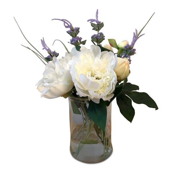 Summer Mixed Centerpiece in Vase by One Allium Way
