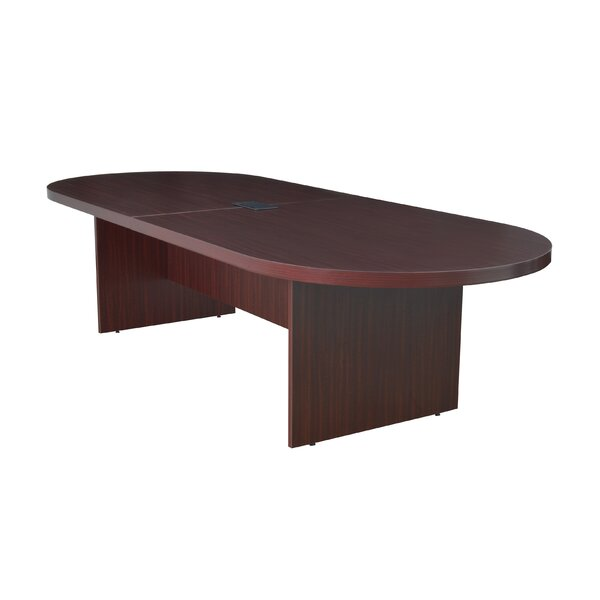 Linh Oval Wood Conference Table by Latitude Run