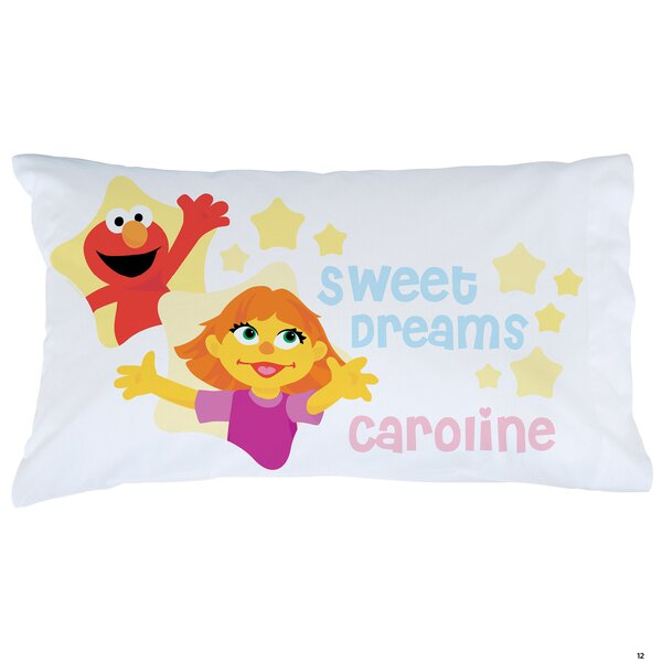 Sesame Street Julia and Friends Pillowcase by CPS