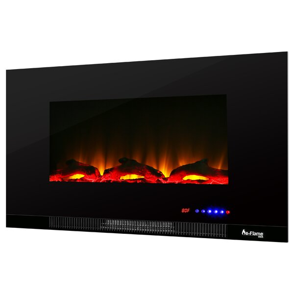 LED Wall Mounted Electric Fireplace Insert By E-Flame USA