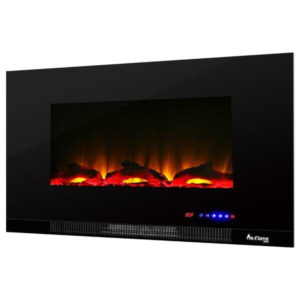 LED Wall Mounted Electric Fireplace Insert by e-Flame USA e-Flame USA