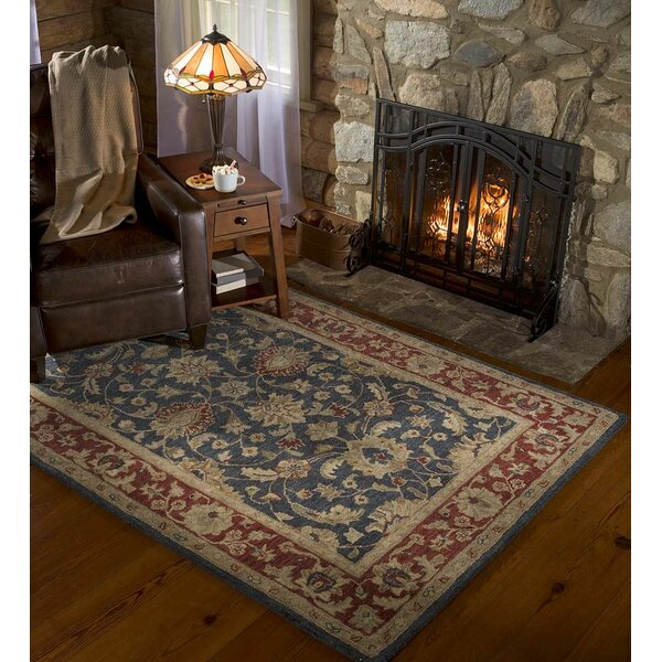 Elizabeth Hand-Tufted Wool Area Rug by Plow & Hearth