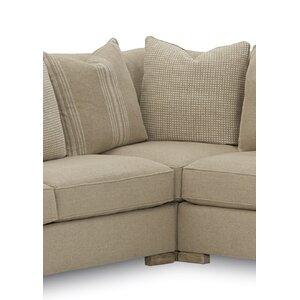 Warner Corner Chair by Gracie Oaks