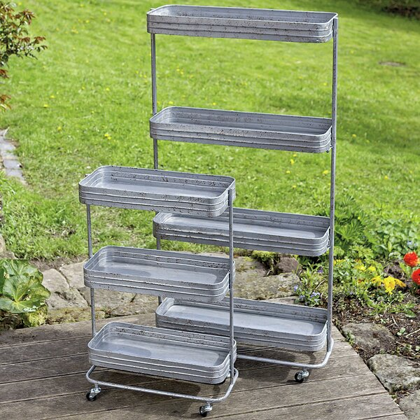Arick Utility Carts 2 Piece Plant Stand Set by Gracie Oaks