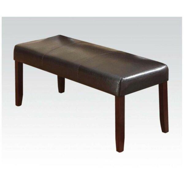 Nalley Upholstery Bench by Winston Porter