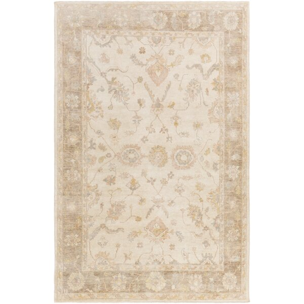 Loire Hand-Knotted Ivory Area Rug by One Allium Way