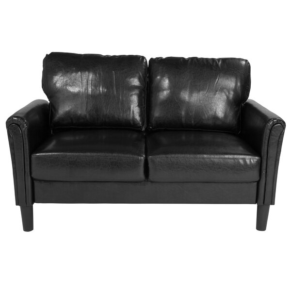 Laila Upholstered Loveseat by Wrought Studio