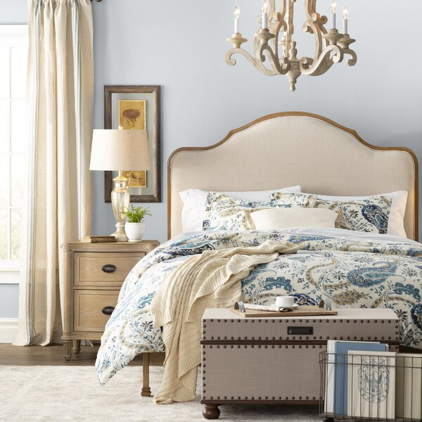 Calvados Upholstered Standard Bed by Birch Lane™ Heritage
