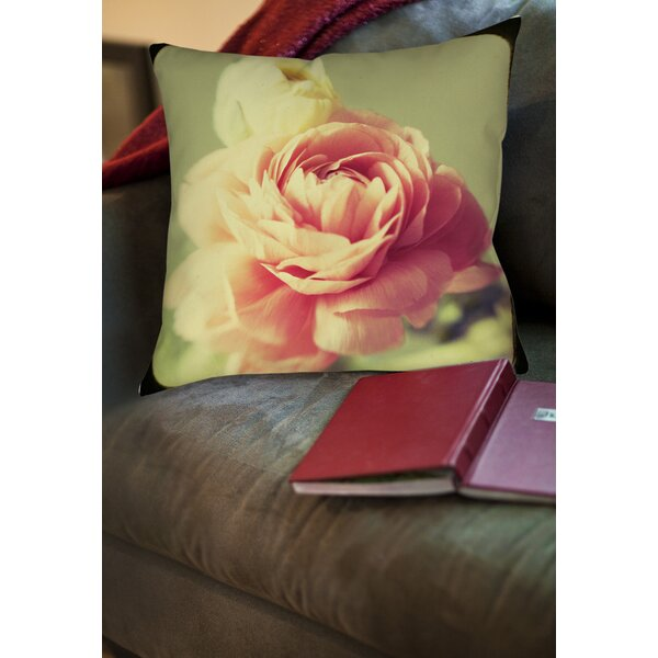 Vintage Botanicals 3 Printed Throw Pillow by Manual Woodworkers & Weavers