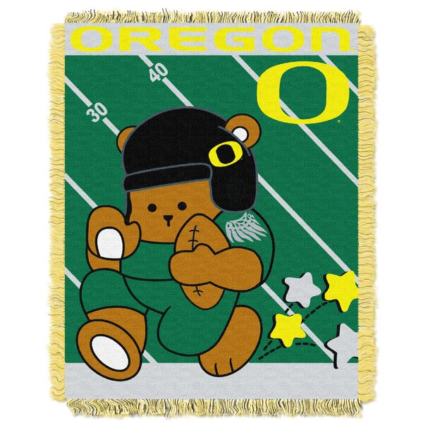 Collegiate Oregon Baby Blanket by Northwest Co.