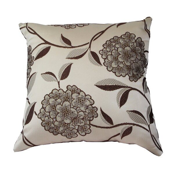 Venetian Luxurious Throw Pillow by Violet Linen