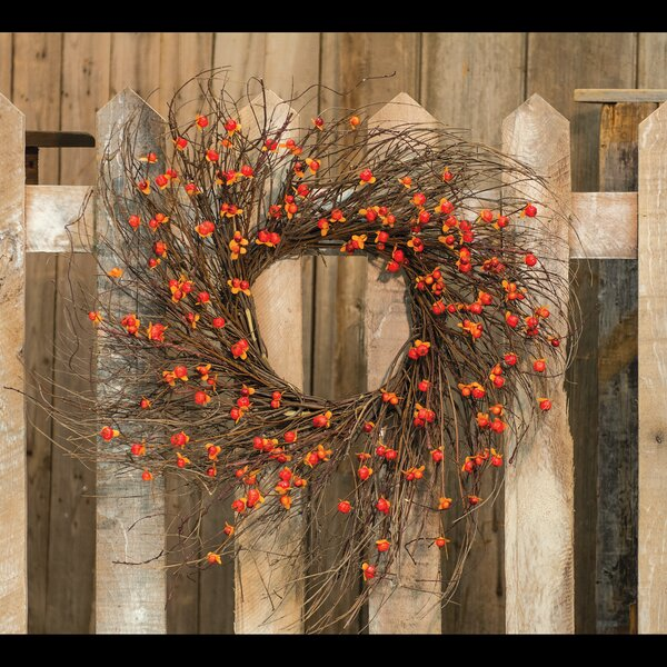 Twig 24 Wreath by August Grove