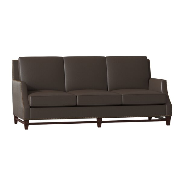 Madigan Leather Sofa by Bradington-Young