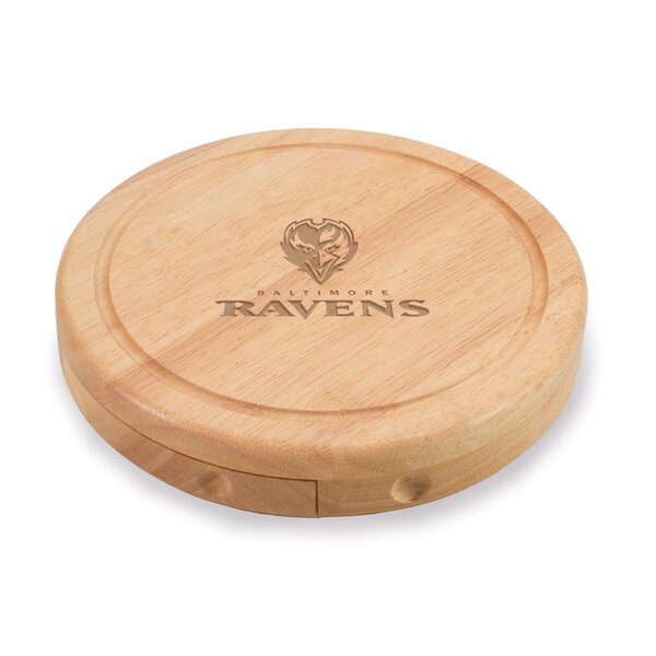 NFL Brie Engraved Cheese Board by TOSCANA™