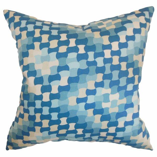 Clarence Geometric Floor Pillow by Corrigan Studio