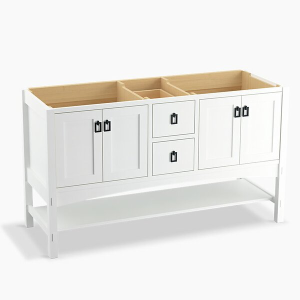 Marabou™ 60 Vanity with 4 Doors and 2 Drawers, Split Top Drawer by Kohler