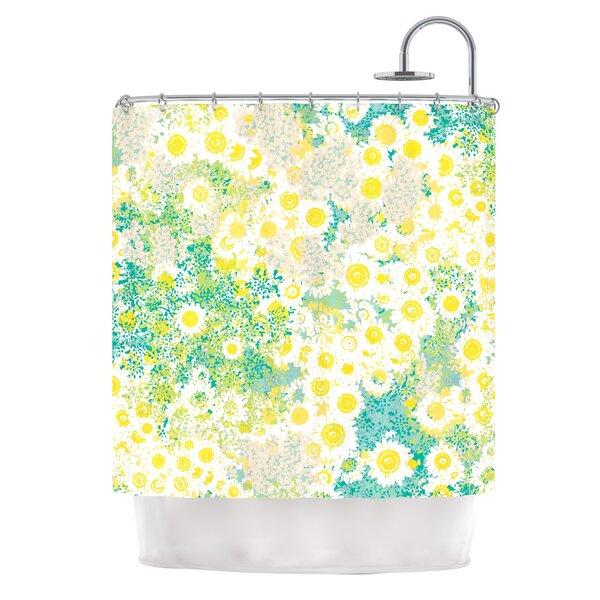 Myatts Meadow Shower Curtain by KESS InHouse