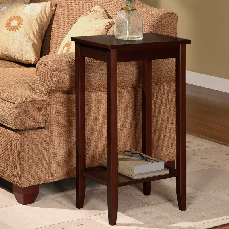 winston porter noble rosewood tall end table  reviews