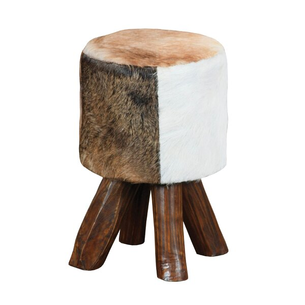 Kriebel 18 Stool with Cushion by Union Rustic