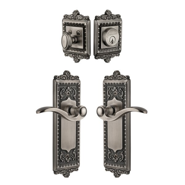Windsor Keyed Door Lever by Grandeur
