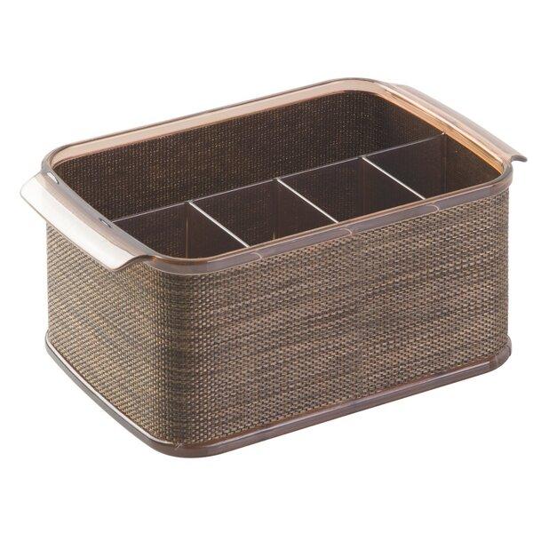 Twillo Flateware Caddy Organizer For Kitchen Countertop Storage Dining Table By Interdesign.