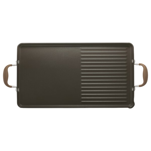 10 Non-Stick Grill Pan & Griddle by Anolon