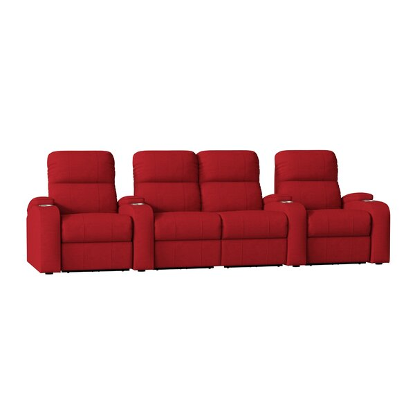 Home Theater Loveseat (Row Of 4) By Winston Porter