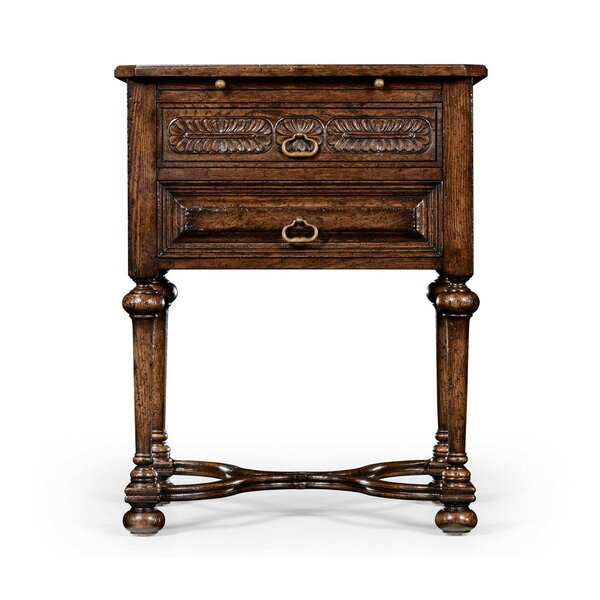 Tudorbethan End Table By Jonathan Charles Fine Furniture