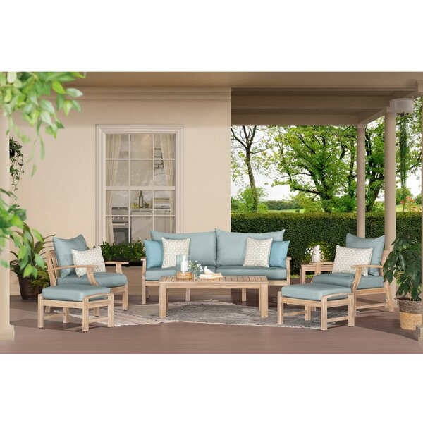 Dianne 7 Piece Sofa Seating Group With Cushions By Bay Isle Home