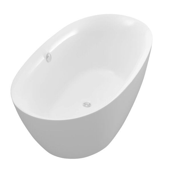 Adze Series 70.8'' x 35.4'' Freestanding Soaking Bathtub by ANZZI