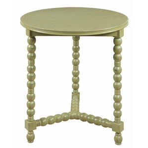 Oroklini Pistachio Milk End Table by Bay Isle Home